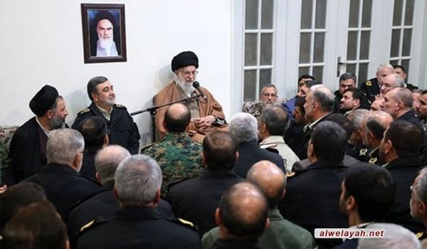 قائد الثورة الإسلامية يؤكد ضرورة مواصلة انجازات قوى الأمن الداخلي