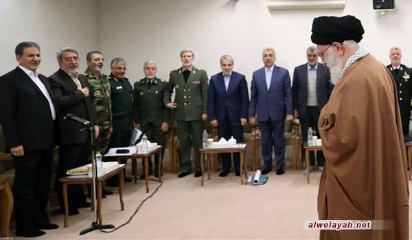 تفاصيل لقاء قائد الثورة الإسلامية مع كبار المسؤولين حول السيول الأخيرة
