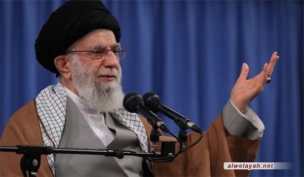 قائد الثورة الإسلامية: الشعب الإيراني أحبط مؤامرة واسعة وخطيرة جدا