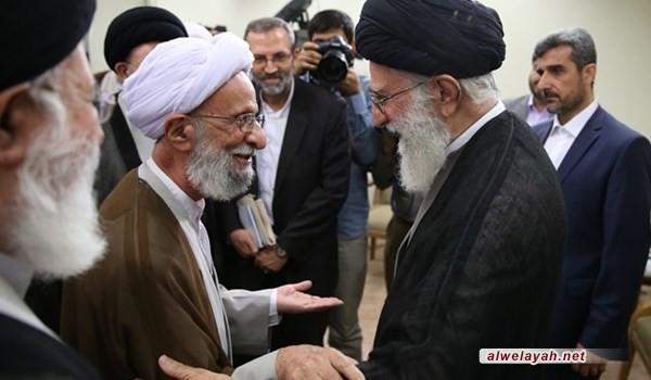 الإمام الخامنئي يعزي برحيل آية الله محمد تقي مصباح اليزدي
