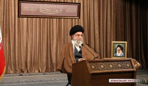 """الإمام الخامنئي يطلق على العام الشمسي الجديد عنوان """"الإنتاج، الإسناد، إزالة العراقيل"""""""