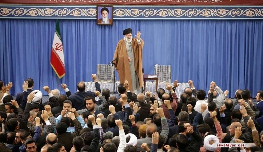 قائد الثورة الاسلامية: الانتخابات ستحبط النوايا الشريرة التي تراود أعداءنا