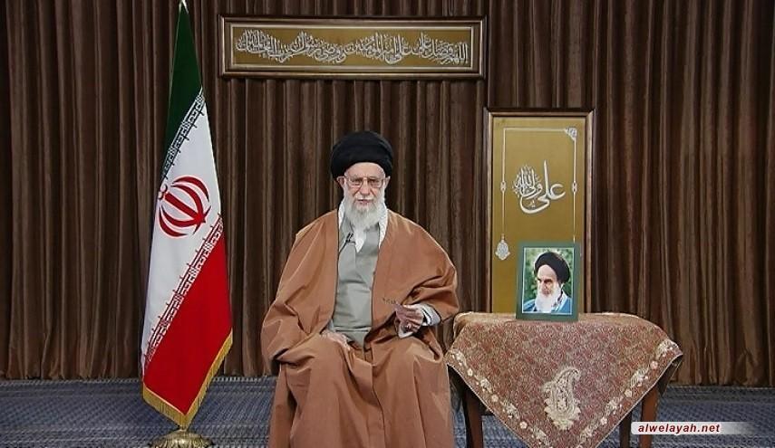 """قائد الثورة الإسلامية يهنئ الشعب الإيراني بالعام الإيراني الجديد ويسميه بعام"""" ازدهار الإنتاج """""""