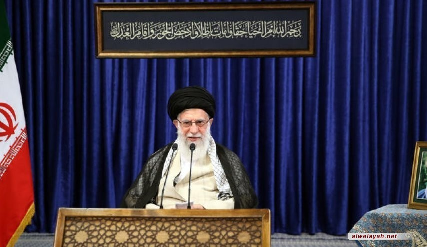 مقتطفات من كلمة الإمام الخامنئي في اتصال متلفز مع مؤتمر السلطة القضائية العام