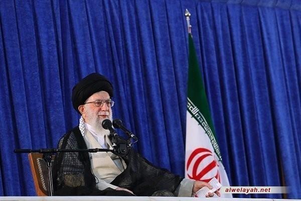 قائد الثورة الإسلامية يستقبل رئيس ومسؤولي السلطة القضائية