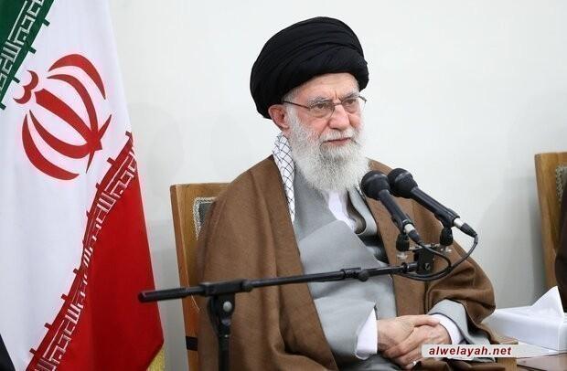 قائد الثورة الإسلامية يلقي خطابا بمناسبة عيد الأضحى المبارك