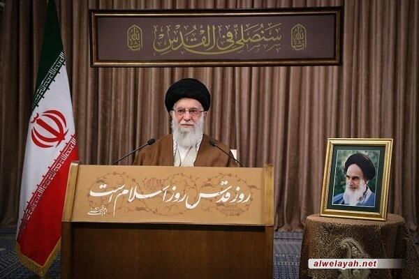 كلمة الإمام الخامنئي يوم القدس: نسيت معظم الدول العربية واجبها وغيرتها ونخوتها العربية تجاه قضية فلسطين