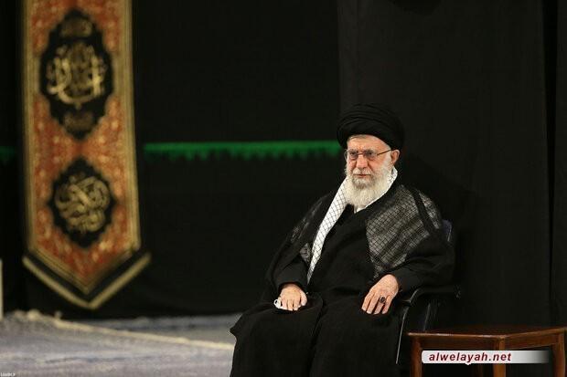 إقامة الليلة السادسة والأخيرة من مراسم عزاء الإمام الحسين (ع) بمشاركة قائد الثورة