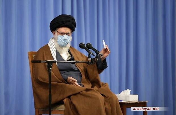 الإمام الخامنئي يلقي خطاباً اليوم الأحد