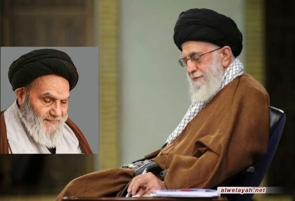 قائد الثورة الإسلامية يعزّي بوفاة آية الله السيد حسين شمس