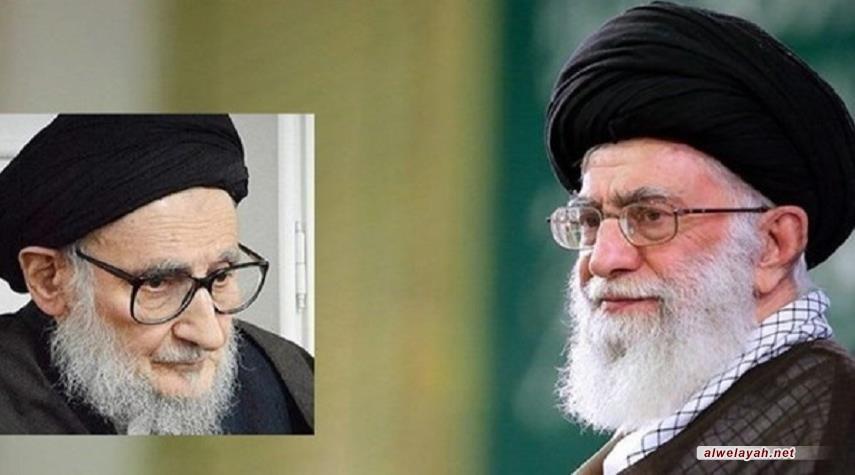 """قائد الثورة الإسلامية يعزي بوفاة أستاذ القرآن """"آية الله ضياء آبادي"""""""