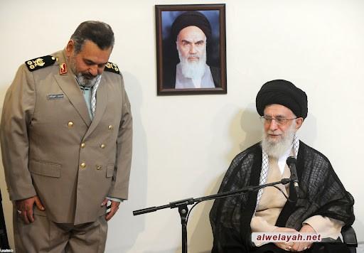 الإمام الخامنئي: اللواء فيروزآبادي بذل عمره في النضال القيم لانتصار الثورة الإسلامية