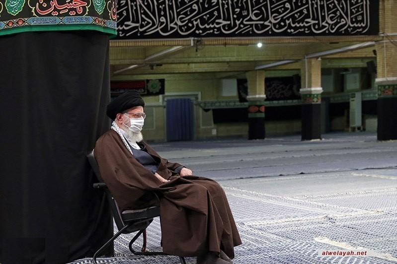 بحضور الإمام الخامنئي.. إقامة مراسم عزاء في ذكرى استشهاد الإمام الرضا ( ع)