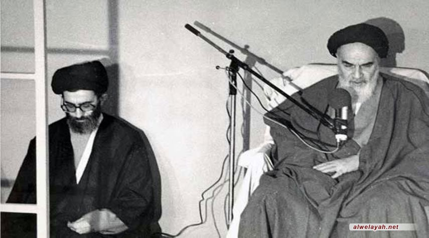 بيان الإمام الخميني (ره) إلى المراجع والعلماء والحوزات العلمية وأئمة الجمعة والجماعة الصادر في 15 رجب 1409هـ