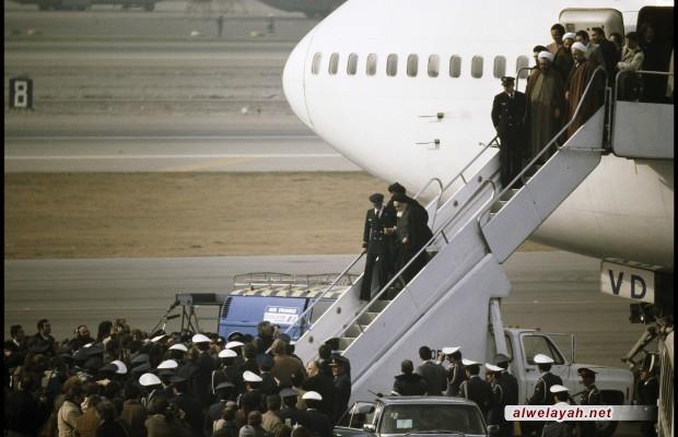في رحاب ذكرى انتصار الثورة الإسلامية؛ مع الإمام من مطار باريس إلى طهران