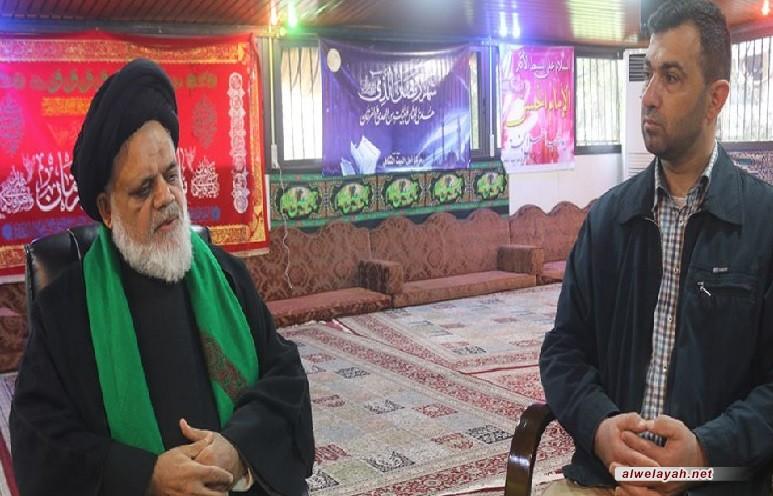 الإمام الخمينيّ قدس سره روح العظمة والتّقى
