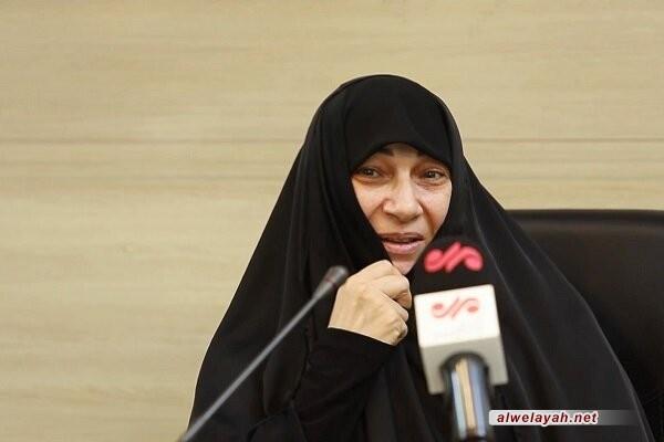 زوجة الشهيد ذو الفقار: ستبقى أفكار وأهداف الإمام الخميني (ره) باقية وخالدة على مر العصور