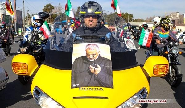 بيان مسيرات ذكرى انتصار الثورة الإسلامية: سنذيق الأعداء هزيمة نكراء في حربهم الاقتصادية