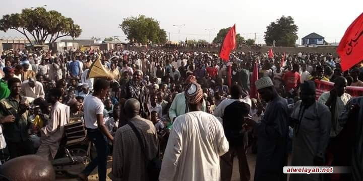 أتباع أهل البيت في نيجيريا والشعب الفلسطيني.. مظلومية واحدة والظالم واحد