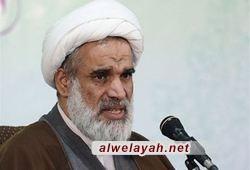 آية الله الكعبي: مواقف قائد الثورة الإسلامية خلقت تحديا أمام سياسة الغطرسة