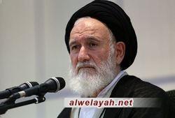 آية الله الحسيني الشاهرودي: مواقف القيادة الحكيمة أفسدت على واشنطن مخططاتها