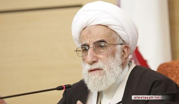 آية الله جنتي يؤكد ضرورة الاهتمام ببيان الخطوة الثانية للثورة الإسلامية
