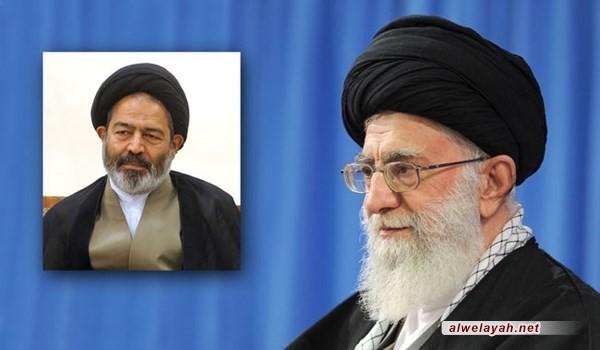 قائد الثورة الإسلامية يعيّن السيد عبد الفتاح نواب رئيسا لبعثة الحج الإيرانية