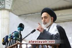 إمام جمعة النجف الاشرف: العالم كان يراهن على سقوط الثورة الإسلامية في سنينها الأولى
