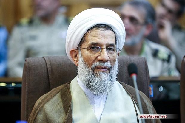 """حجة الإسلام محمد حسني: تمسك إيران بمدرسة الشهيد """"قاسم سليماني"""" تحميها من المؤامرات"""