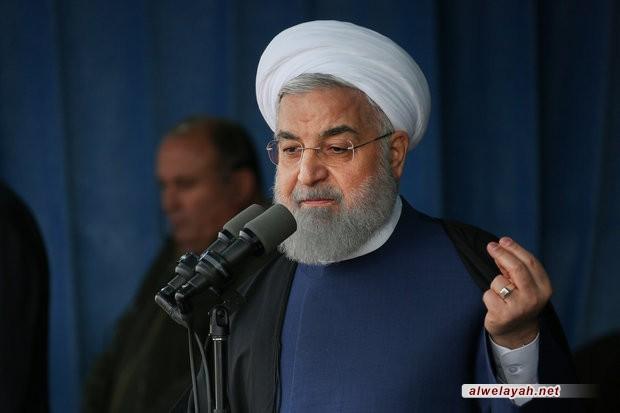 روحاني: الثورة الإسلامية مبنية على الانتخابات..الشعب اختار الاستقلال