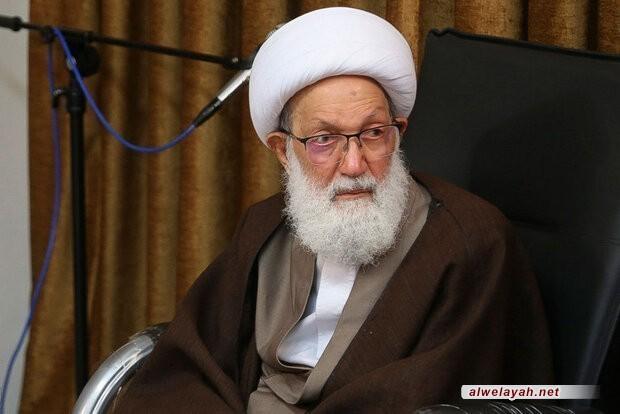 الشيخ عيسى قاسم: لا عزة للأمة إذا استولى الصهاينة على الأقصى