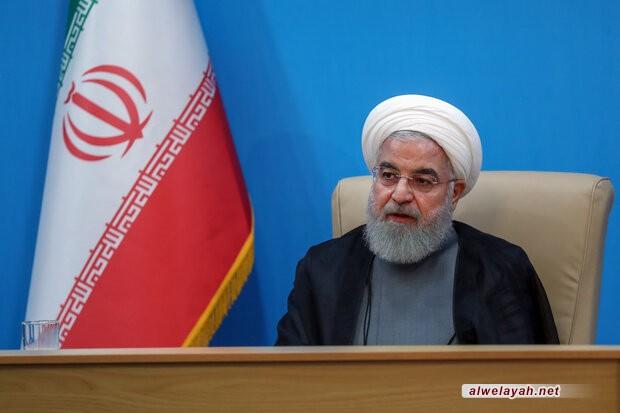 الرئيس روحاني: نهج الإمام الراحل يستمر في ظل التوجيهات الوضاءة لقائد الثورة الإسلامية