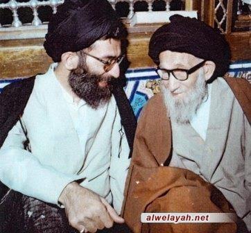 بيان الإمام الخميني (ره) بمناسبة وفاة آية الله السيد جواد الخامنئي
