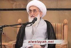 آية الله نوري الهمداني: إمامة الجمعة أهم قناة لإقامة العلاقات بين الشعب والنظام الإسلامي