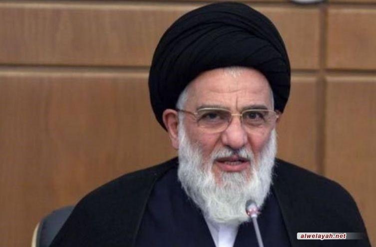 الرئيس الإيراني يعزي بوفاة رئيس مجمع تشخيص مصلحة النظام