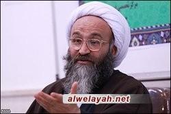 آية الله الحيدري: أعداء الثورة والإسلام يبحثون دائمًا عن كل فرصة لإلحاق الضرر بالثورة الإسلامية