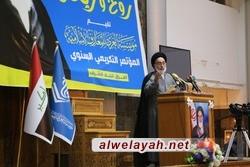إمام جمعة النجف الاشرف: الإمام الخميني واجه الجبابرة والطغاة في سبيل تطبيق الشريعة الإسلامية