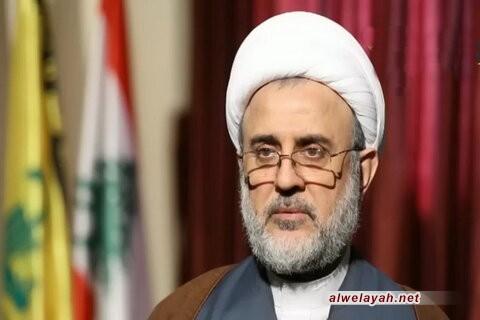 الشيخ قاووق: الشهيد سليماني عرّض حياته للخطر مرّات حماية للسيد نصر الله