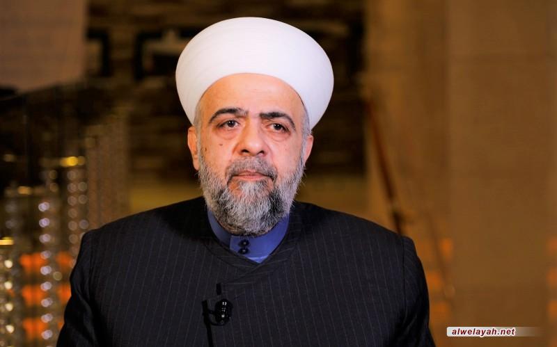 الشيخ محمد عبد الستار السيد: بشارة الإمام الخامنئي بالصلاة في القدس فجّرت آمالنا بتحقيق النصر النهائي