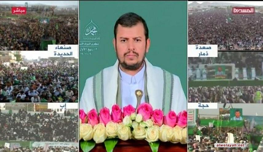 السيد الحوثي يوجه رسالة إلى النظام السعودي