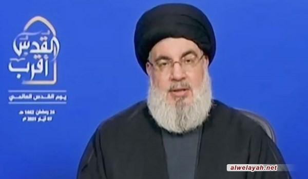السيد نصر الله : مستقبل المنطقة يصنعه محور المقاومة