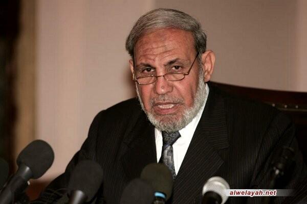 محمود الزهار: الشهيد سليماني كان لديه ايمان صادق بتحرير فلسطين