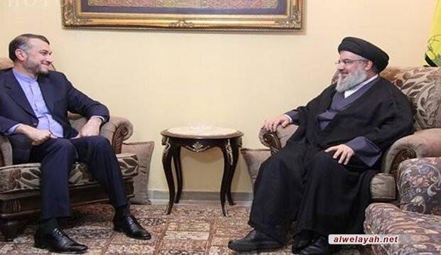 السيد نصر الله: أمريكا ليست قادرة على فرض حرب عسكرية على إيران