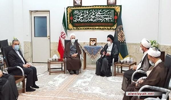 حجة الإسلام ايجئي: القضاء يجب أن يكون على مستوى الخطوة الثانية للثورة الإسلامية