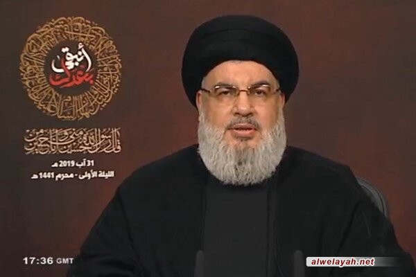 السيد حسن نصر الله: رد المقاومة على الاعتداءات الإسرائيلية أمر محسوم