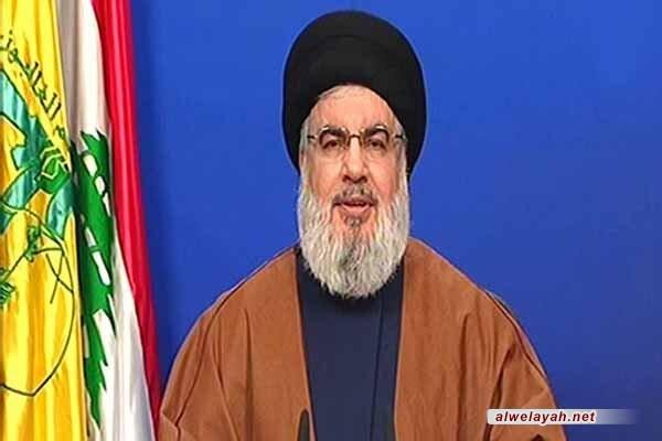 السيد نصر الله: إيران لا تعتمد على حلفائها في الردّ على من يعتدي عليها