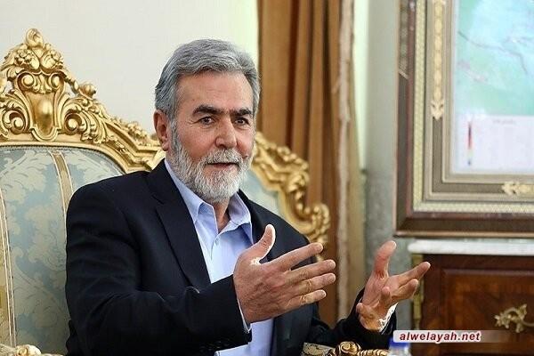 أمين عام حركة الجهاد الإسلامي: الشهيد سليماني كان يمثل الدعم الإيراني للمقاومة