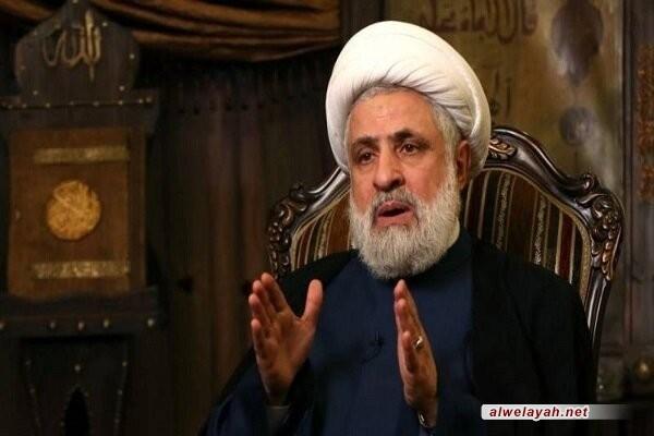 الشيخ نعيم قاسم يؤكد دور الشهيد سليماني الفريد في انتصار المقاومة في حرب تموز