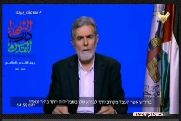 النخالة: دعوة الإمام الخميني تؤكد أن فلسطين ليست مسألة فلسطينية بل قضية المسلمين جميعاً