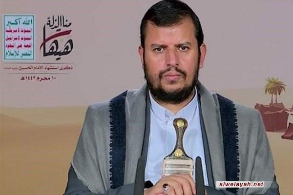 قائد حركة أنصار الله: مواقفنا تجاه القضية الفلسطينية ومن العدو الصهيوني ومن الغطرسة الأمريكية لا تقبل المساومة